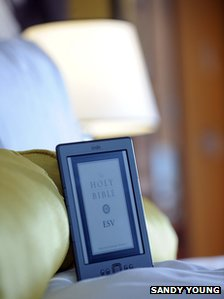 Gideon Bible on e reader