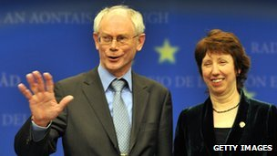 Van Rompuy and Baroness Ashton
