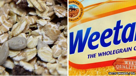 Granola and Weetabix