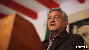 Andres Manuel Lopez Obrador on 7 July