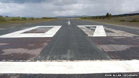 Ashaig airstrip. Pic: John Allan/Geograph