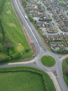 The Wrexham Industrial Estate relief road