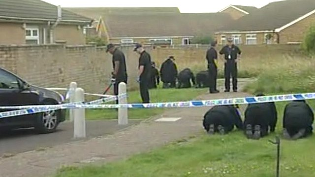 Fingertip search of scene of fatal shooting in Clacton