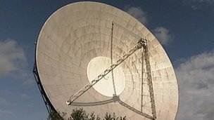 Goonhilly's Antenna 1, nicknamed Arthur