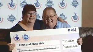 Chris and Colin Weir