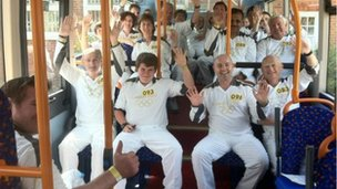 Ludgershall torchbearers