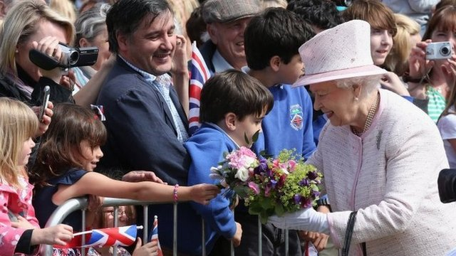 The Queen in Hereford