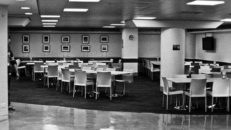 The Bush House canteen