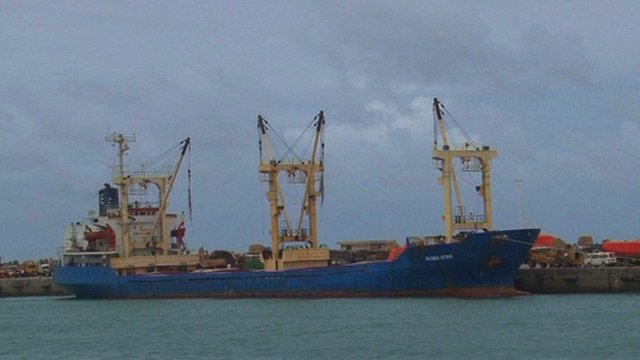 the port of Mogadishu's operations are flourishing