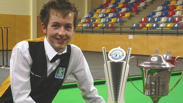 Scott Donaldson is the European amateur champion