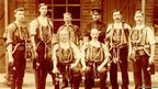 Cresswell Colliery rescuers