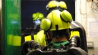 Miners head into training zone at Mines Rescue Service