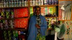Asha Mohamed, who runs Cadaalo Beauty Salon in the Ifo section of Dadaab, Kenya