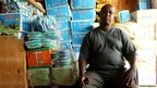 Mohamed Abdillahi Abeh who has lived in Dadaab since 1991, photographed in one of his shops