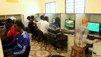 The Hagadera youth office in Dadaab, Kenya