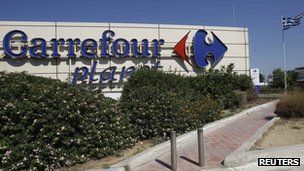 A Carrefour supermarket