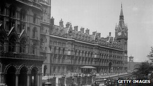 St Pancras Station, London, 1900