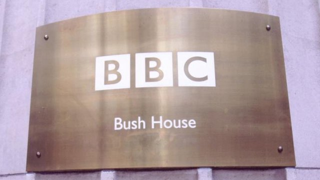 BBC Bush House sign