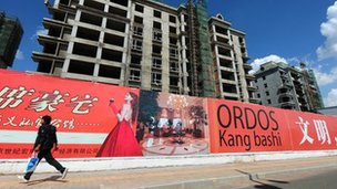 The city of Ordos in Inner Mongolia, is being built to house 1.5 million inhabitants and has been dubbed as the 'Dubai of China' by locals.