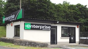 Enterprise rental