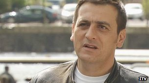 Chris Gascoyne as Peter Baldwin in Coronation Street