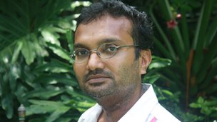Maldivian journalist Ismail Rasheed (12 Jul)