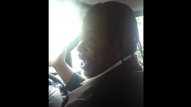 Taxi driver O&#039;Niel Blackstock