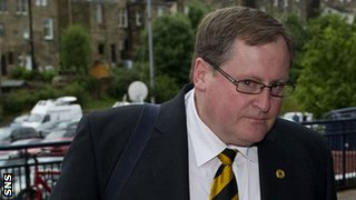 Annan Athletic chairman Henry McClelland