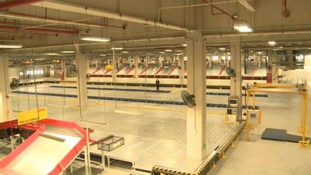 DHL warehouse in China