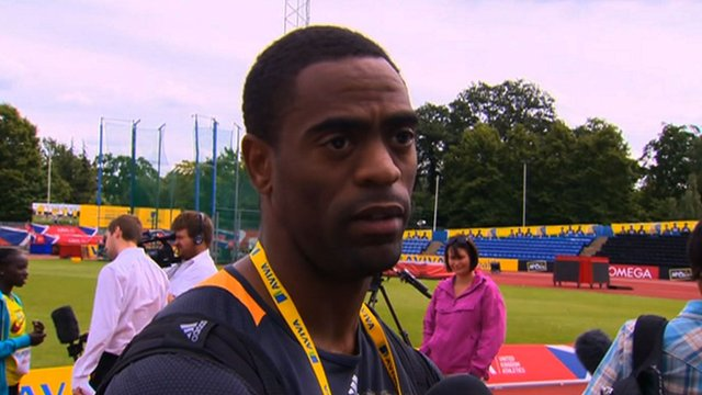 London 2012: Tyson Gay on how he can beat his Jamaican rivals