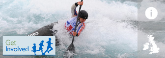 Canoe slalom graphic