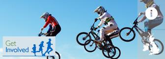 BMX Cycling graphic