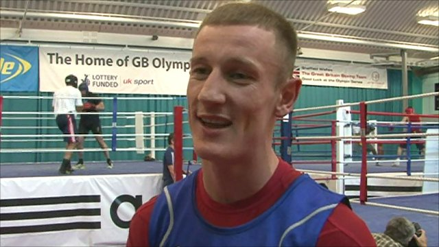 Team GB boxer Tom Stalker