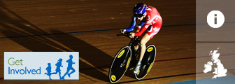 Track cycling graphic