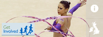 Rhythmic gymnastics graphic