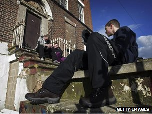 Teenagers in Liverpool who set up their own hiking club in 2009