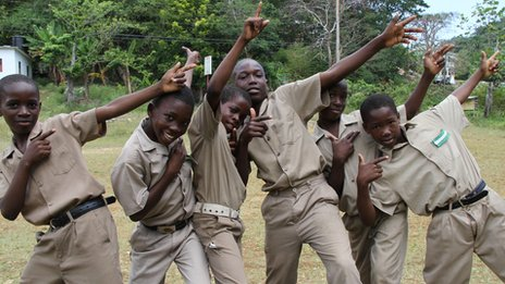 Students from Usain Bolt's old school in Jamaica, William Knibb, will be following his progress closely!
