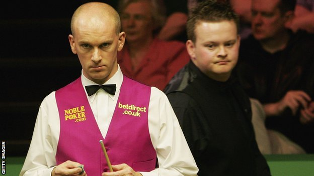 Peter Ebdon and Shaun Murphy