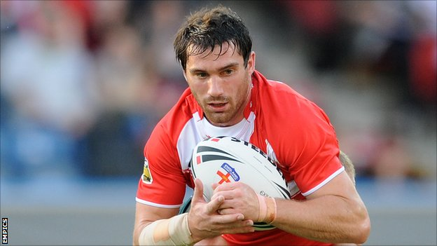 Wigan Warriors half-back Matty Smith