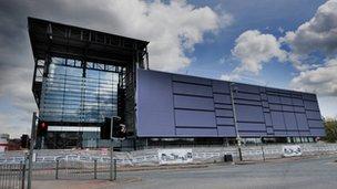bbc news royal name for de montfort university 39 s leisure centre