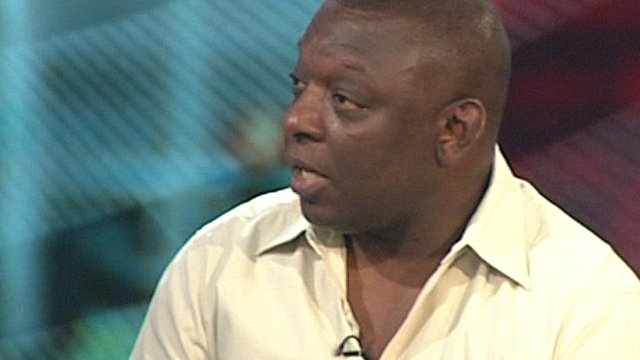 Garth Crooks, trustee of Kick It Out, anti-racism in football campaign