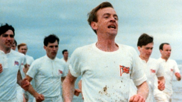 Running scene from the film Chariots of Fire