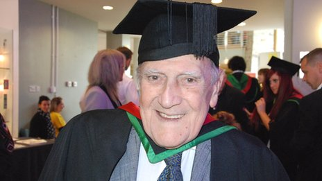 82 year old man dies just days after graduating from college