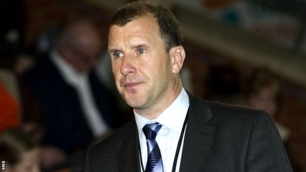 Scottish FA chief executive Stewart Regan