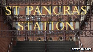 St Pancras Station