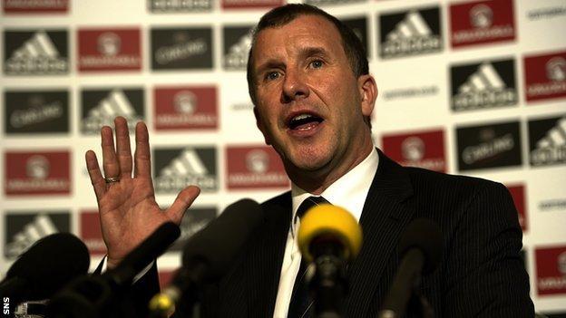 Scottish FA chief executive Stewart Regan