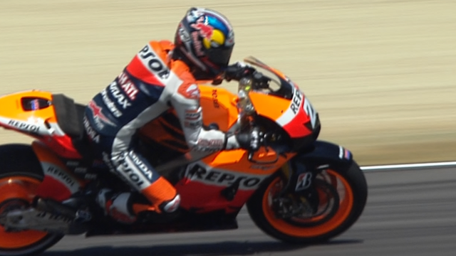 Dani Pedrosa secures pole for Italian MotoGP