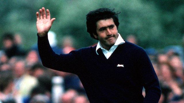Seve Ballesteros wins The Open in 1979