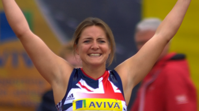 Great Britain's Goldie Sayers