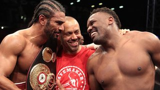 David Haye, Adam Booth, Dereck Chisora